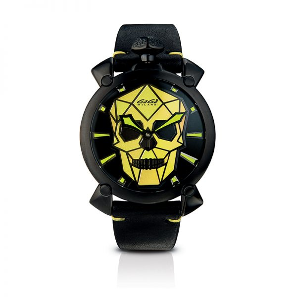 Bionic Skull 48mm - Black PVD