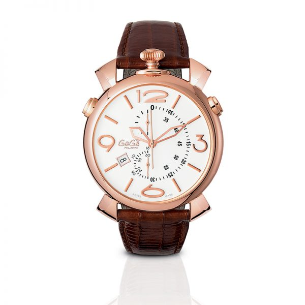 Thin Chrono 46mm - Rose gold plated