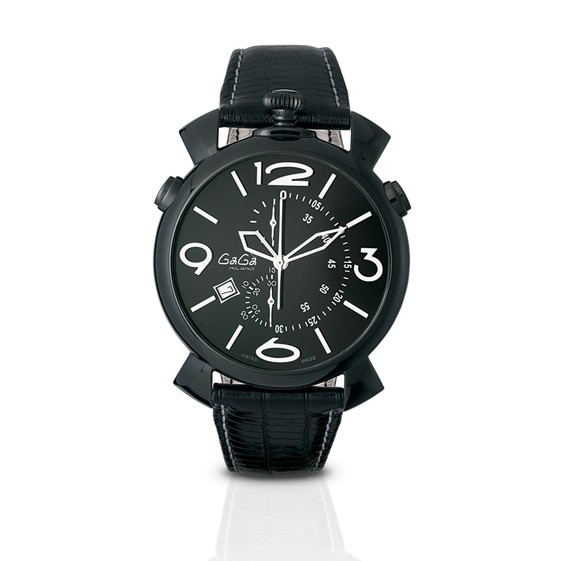 Thin Chrono 46mm - Black PVD