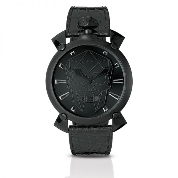 Bionic Skull Automatic 45mm - Black PVD