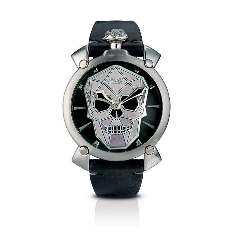 Bionic Skull 48mm - Steel