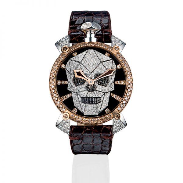 Bionic Skull 48mm - Diamonds