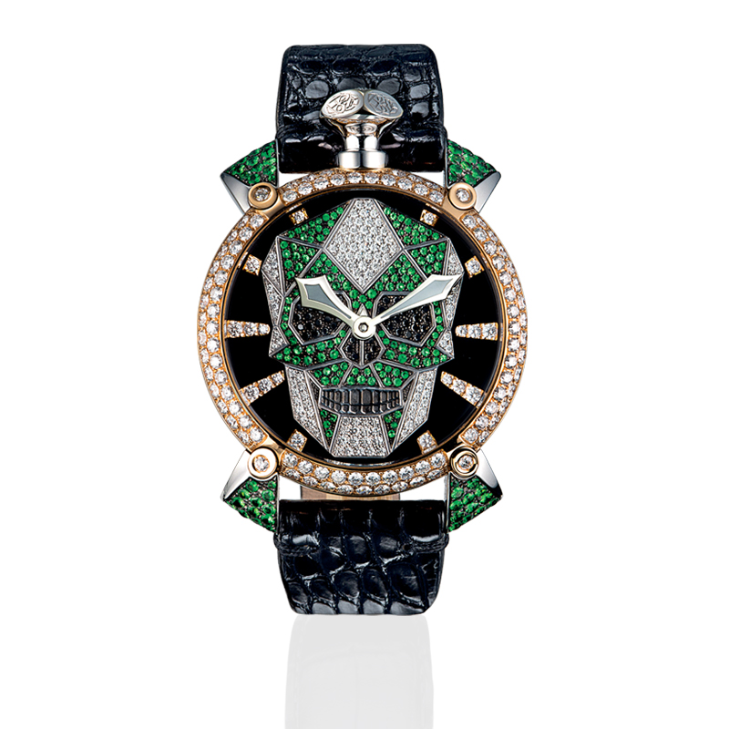 Bionic Skull 48mm - Diamonds
