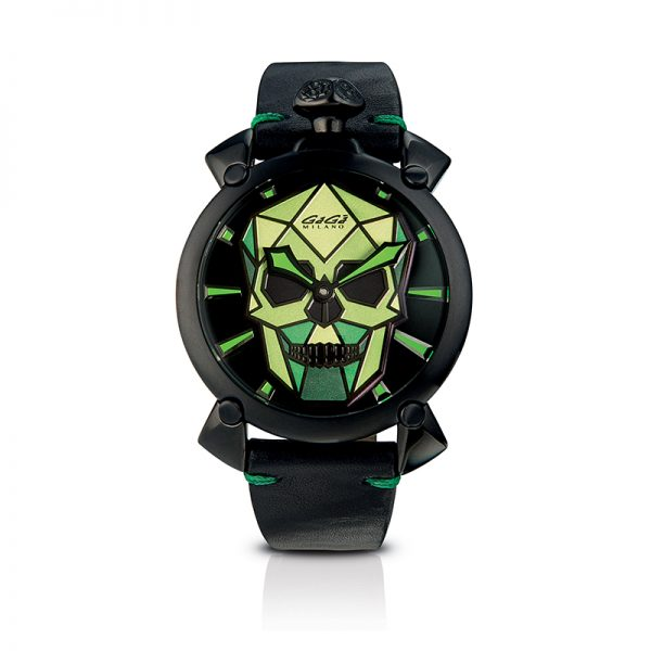 Bionic Skull 48mm - Black PVD