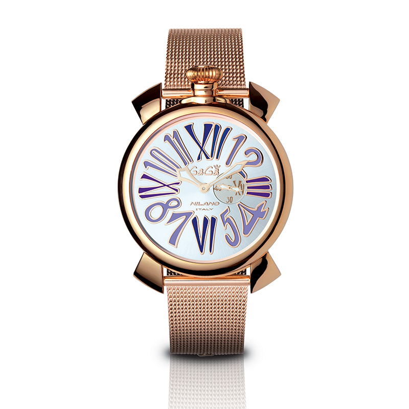 Slim 46mm - Rose gold plated