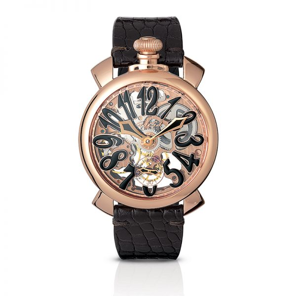 Skeleton 48mm - Rose gold plated