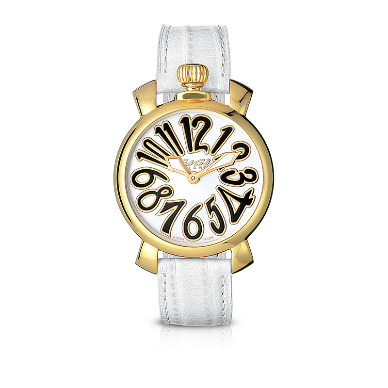 Manuale 35mm - Yellow gold plated