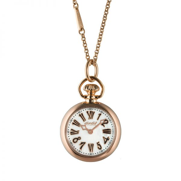 Necklace Watch - Rose gold plated