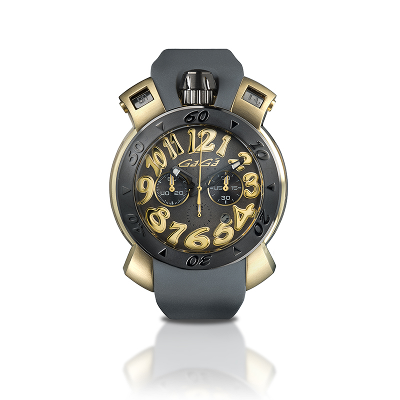Chrono 48mm - Yellow gold plated