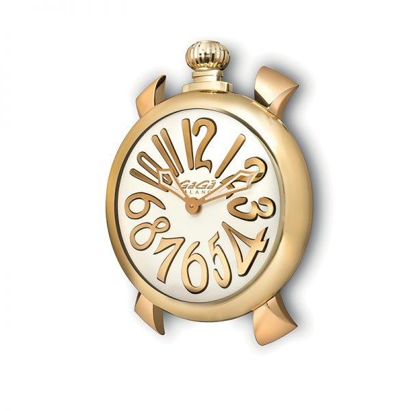 Wall Clock - Gold