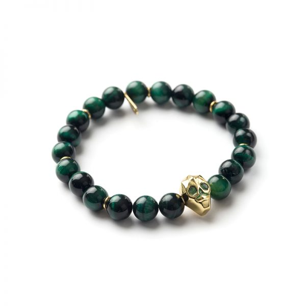 Beads Bracelet - Skull - Man