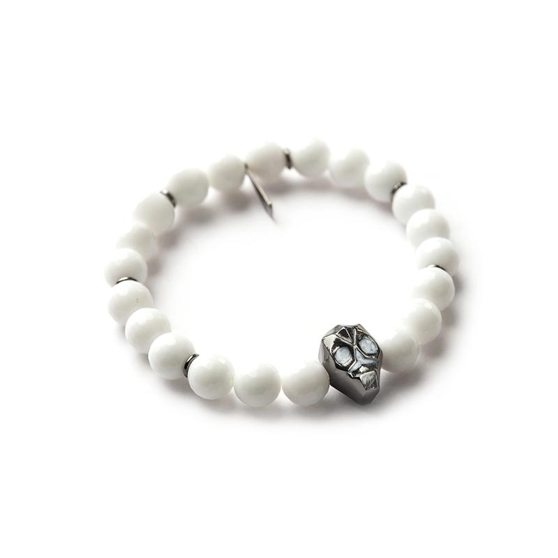Beads Bracelet - Skull - Woman