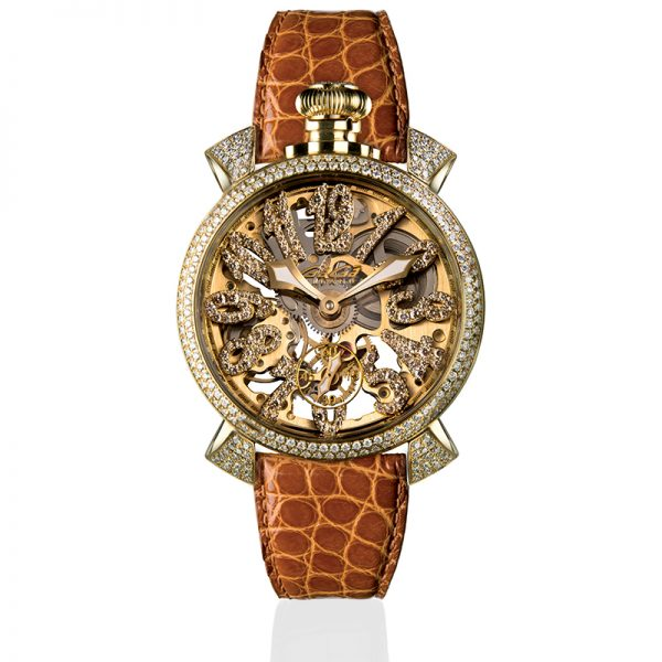 Skeleton 48mm - Diamonds