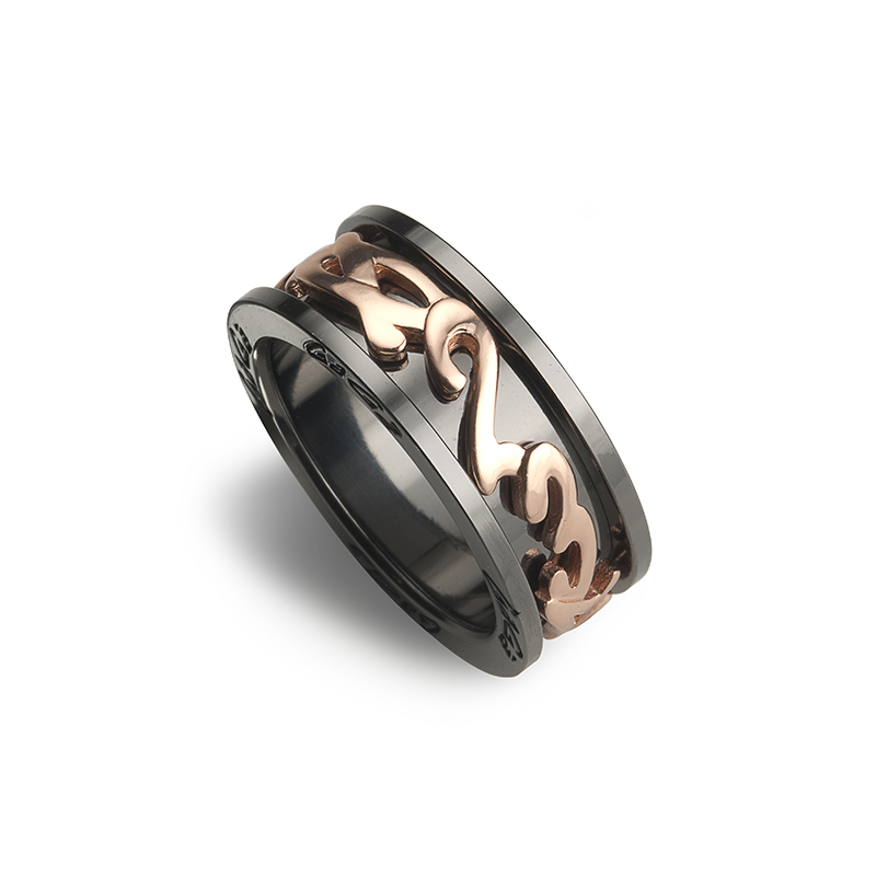 Ring - Rose gold plated Ø 22