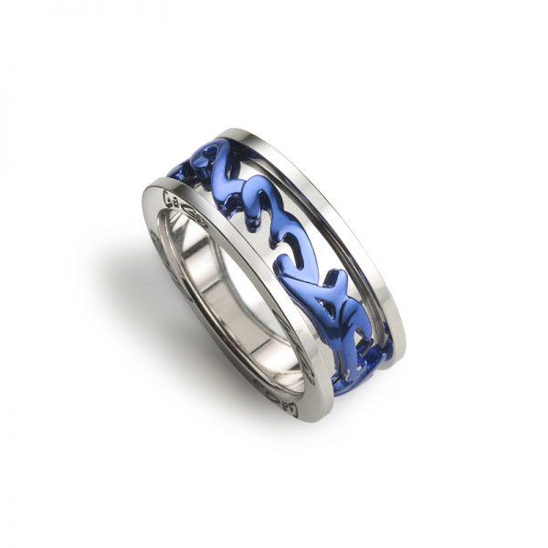 Ring - Blue Ø 20