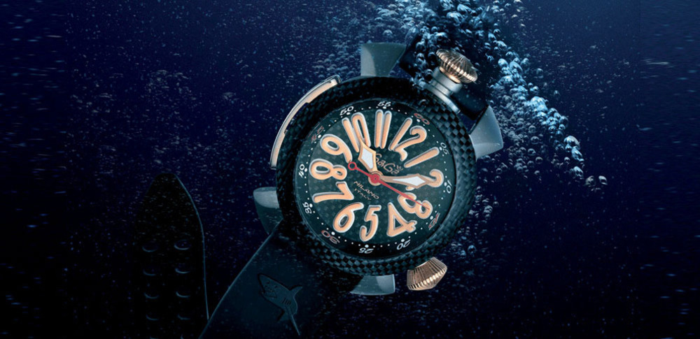 Immagine GaGà Milano presents Diving 48mm – Titanium