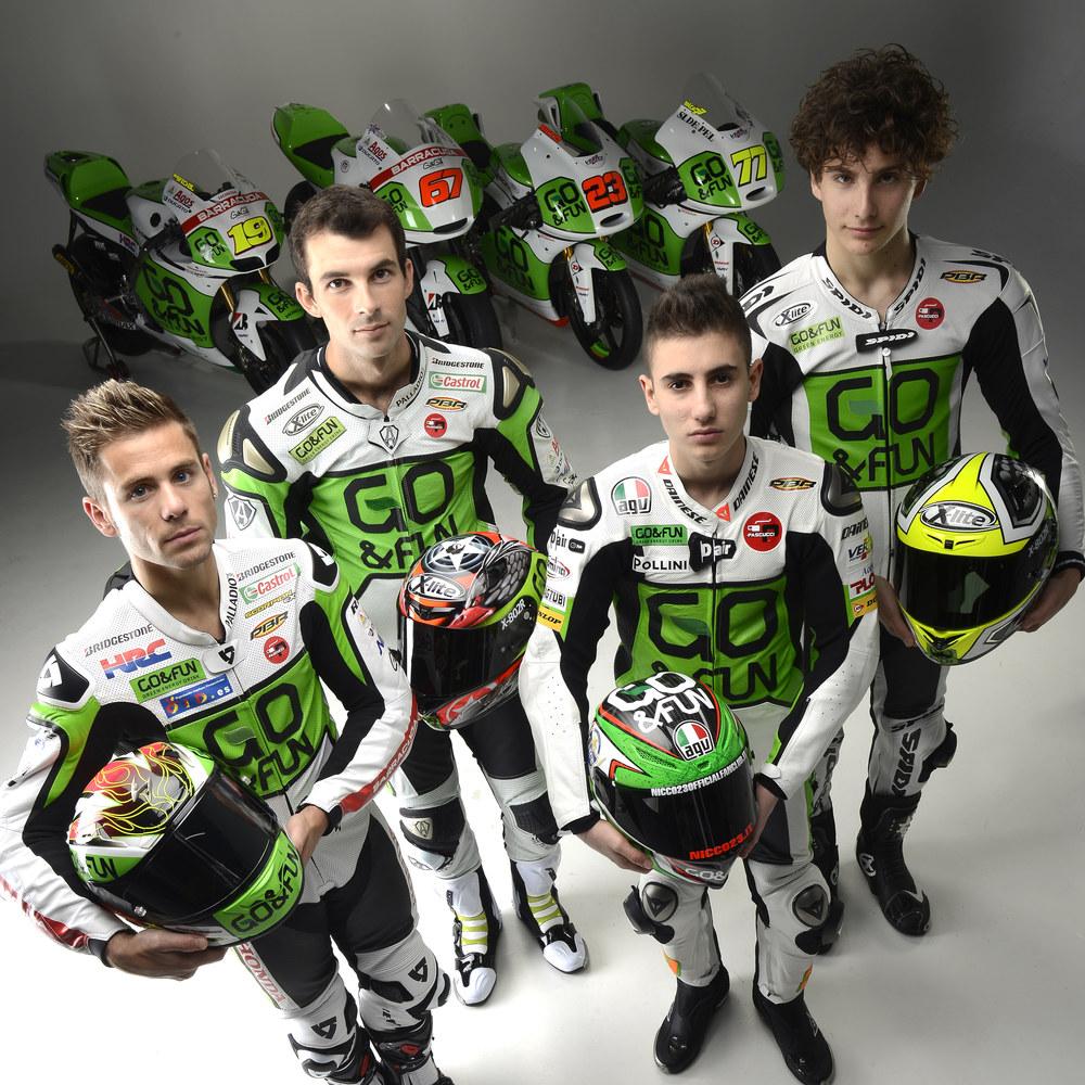 Immagine GaGà Milano team sponsor of go&fun Honda gresin at moto GP