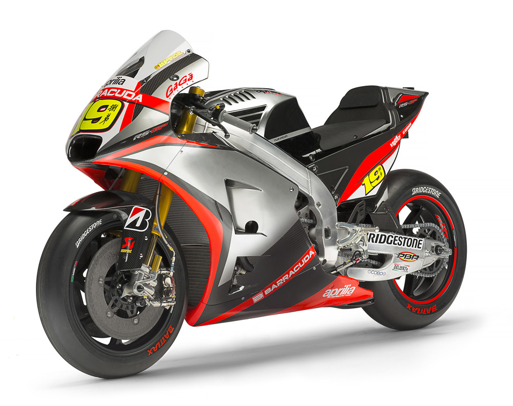 Immagine GaGà Milano returns to moto GP track sponsoring the Aprilia racing team gresini