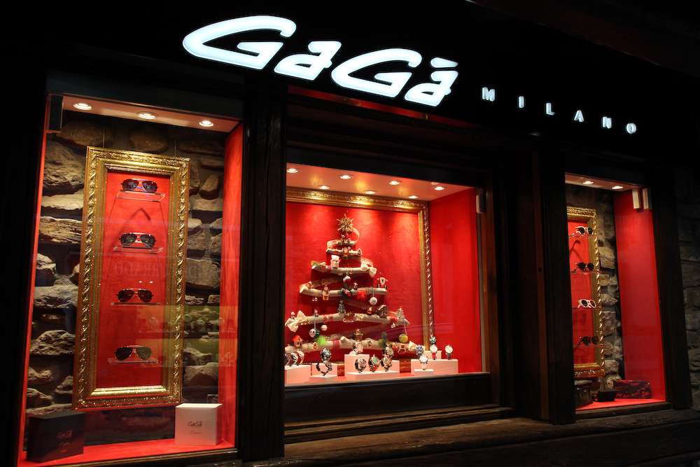 Immagine The new Gagà Milano Boutique in Courmayeur