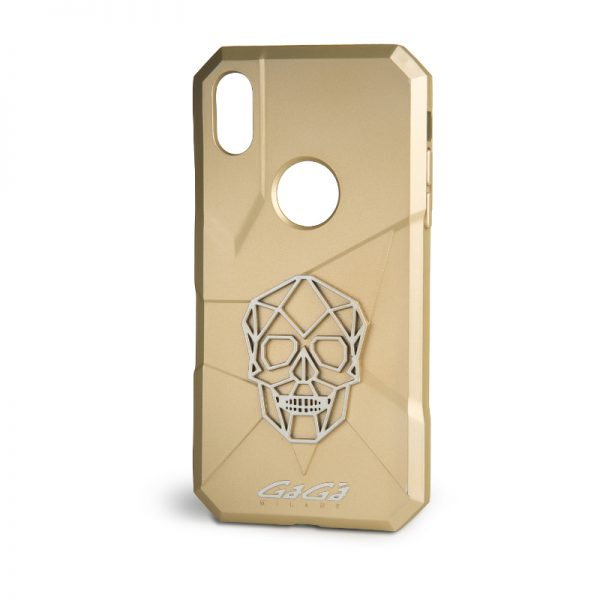 iPhone X Cover - Gold