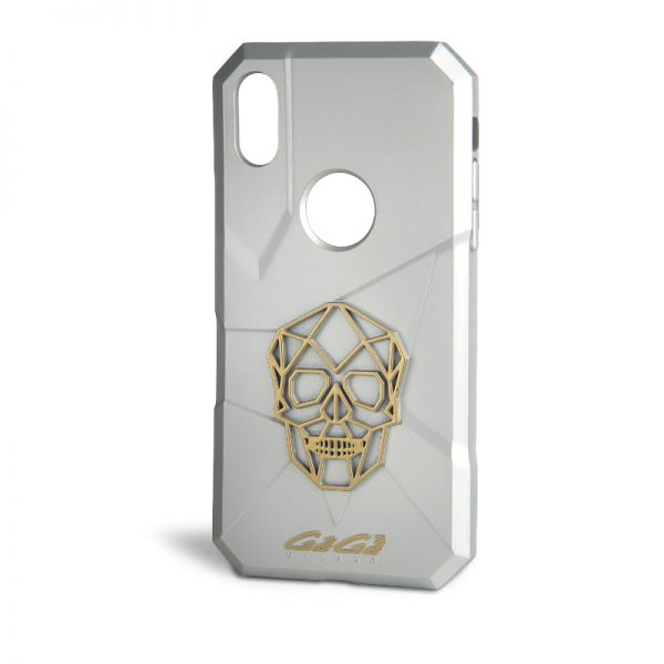 iPhone X Cover - Silver