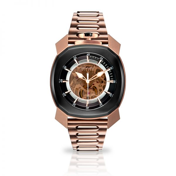 Frame_One - Rose gold plated