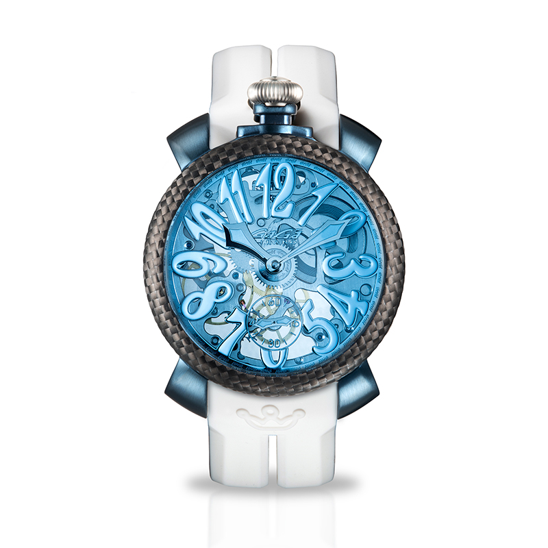 Skeleton 48mm - Blue PVD